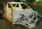 OSCar O3 spaceframe, front