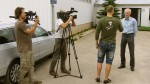 Andris Dambis and TV + movie crew